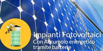 Impianti Fotovoltaici – Sistemi di accumulo